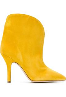 Paris Texas Bota Slip-On Com Bico Fino - Amarelo