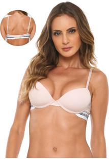 Sutiã Calvin Klein Underwear Push-Up Modern Rosa
