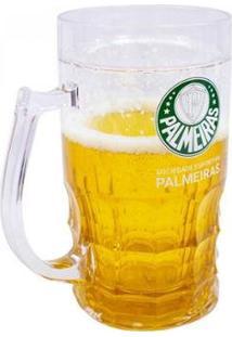 Caneca Cerveja 600Ml - Palmeiras - Unissex
