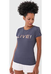 Camiseta Live! Basic Azul-Marinho
