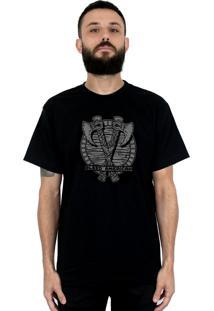 Camiseta Bleed American Axes Preta