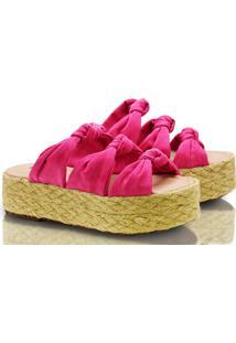 Sandália Mondrian Flatform Juju Pink