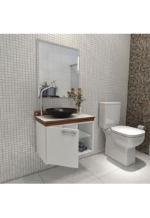 Gabinete Para Banheiro Kaze Premium Gabinetes Com Porta Espelho E C.
