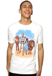 Camiseta O Mágico De Oz Geek10 - Branco