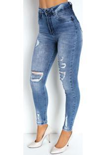 Calça Jeans Clara Cigarrete 360º Sawary