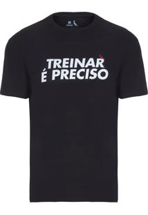 Camiseta Masculina Treinar É Preciso - Preto