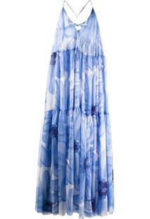 Jacquemus Vestido La Robe Mistral - Azul
