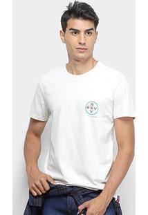 Camiseta Reserva Vida Melhor Masculina - Masculino-Off White