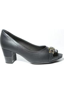 bc5bad0b7 ... Sapato Peep Toe Piccadilly 364004 Preto