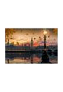 Painel Adesivo De Parede - Big Ben - Londres - 1086Pnp