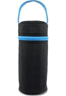 Necessaire Térmica Para Garrafas Jacki Design Mama & Me Preto - Kanui
