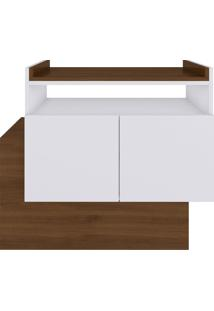 Aparador Buffet/Bar Cubic Branco E Estilare Móveis