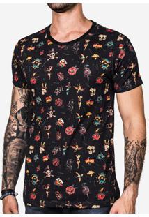 Camiseta Tattoo Preta 101194