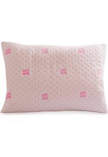 Capa Protetora Impermeável Para Travesseiro Bebê - Baby Premium - Rosa