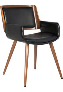 Cadeira Sonia Preta Rivatti Móveis