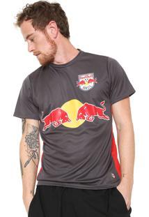 Camiseta Red Bull Estampada Grafite
