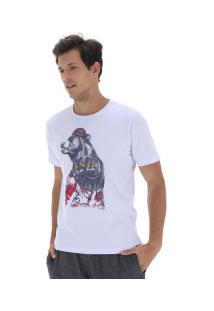 Camiseta Fatal Estampada 17710 - Masculina - Branco