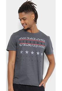 Camiseta Tigs Flamê Estampada Masculina - Masculino