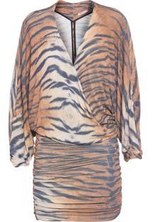 Vestido Curto Gianna - Animal Print