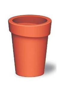 Cachepô Plástico Laranja Tramontina (92761090)