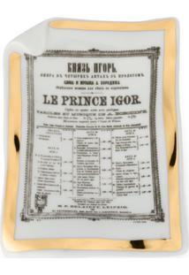 Fornasetti Cinzeiro 'Le Prince Igor' - Branco