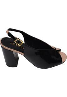 Sapato Feminino Luz Da Lua Preto
