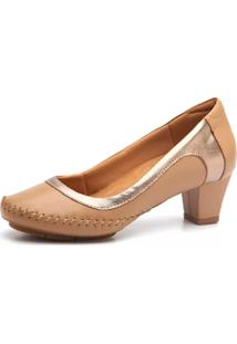 Scarpin Doctor Shoes 787 Amendoa