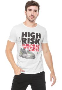 Camiseta Sergio K High Risk Branca