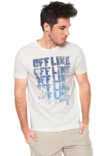 Camiseta Aramis Offline Off-White