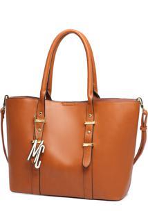 Bolsa Macadamia Tote Bag Caramelo