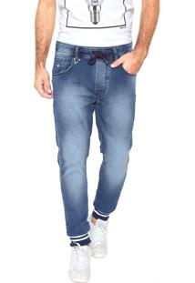Calça Jeans Triton Jogger Flex Urban Azul