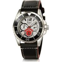 fd49f330b41 Relógio Pulso Masculino Everlast Pulseira Couro Cronógrafo - Masculino  Netshoes