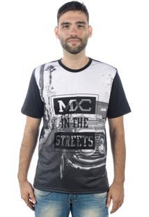 Camiseta Multcaps Mxc 022 Preta