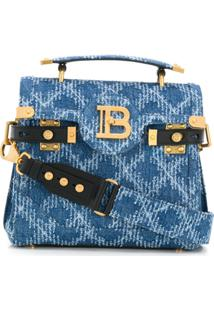 Balmain Bolsa B-Buzz 23 - Azul