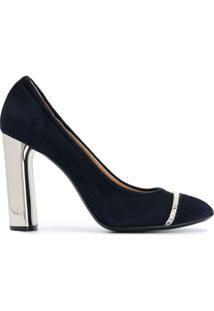 Casadei Sapato Com Corrente - Azul
