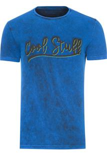 Camiseta Masculina Cool Surf - Azul