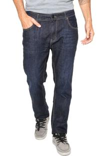 Calça Jeans Quiksilver Avalon Dark Azul