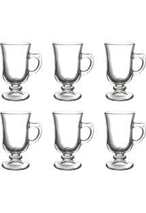 Conjunto Com 6 Xícaras Para Café Dynasty Incolor 120Ml