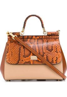 Dolce & Gabbana Sicily Tote Bag - Neutro