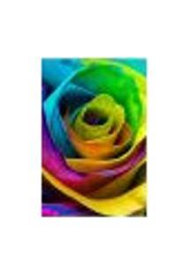 Painel Adesivo De Parede - Rosa Colorida - 1539Pnm