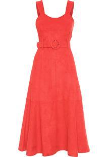 Vestido Isabela - Laranja
