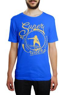 Camiseta Hshop Super Rider - Azul Turquesa