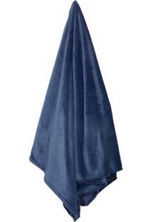 Cobertor Queen Loft Azul Marinho (220X240Cm)