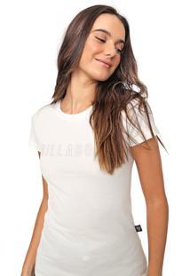 Blusa Billabong Glitter Off-White