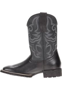 Bota Cow Way Preto