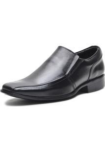 Sapato Social Em Couro Johnny Brands Preto