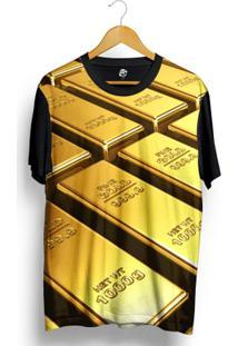 Camiseta Bsc Fine Gold Full Print - Masculino