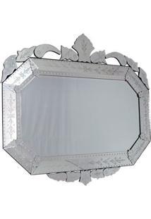 Espelho Veneziano Decorativo Oitavado