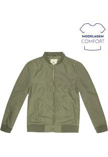 Jaqueta Masculina Básica Bomber Na Modelagem Comfort