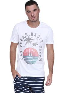 Camiseta King&Joe Las Vegas Branca